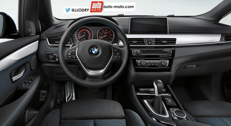 Bmw x2 le crossover compact selon bmw for Interieur x2