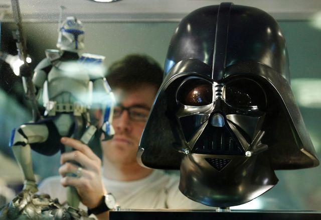 Star Wars, champion toutes catégories du merchandising.