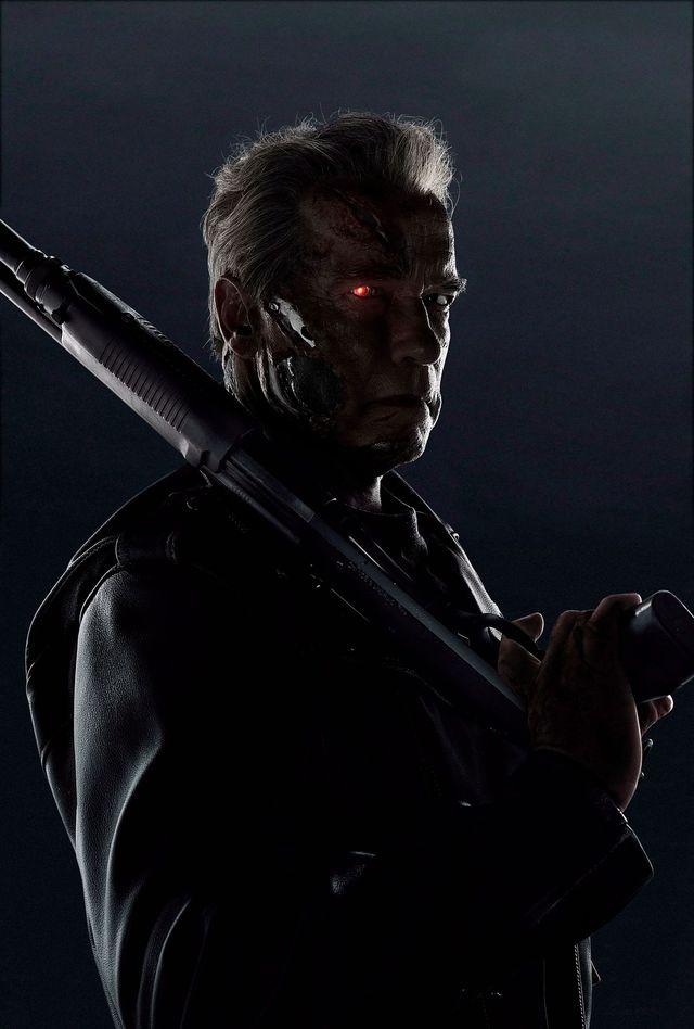 Terminator: Genisys, avec Arnold Schwarzenegger.